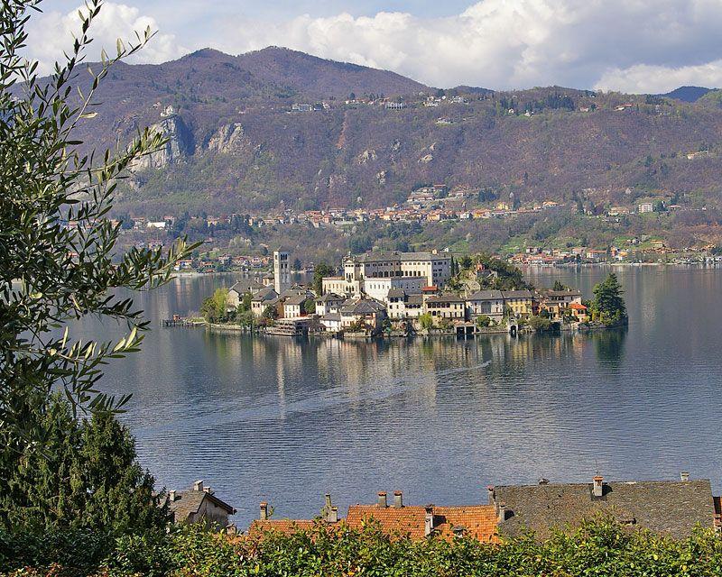 Sacro Monte di Orta, the Sacred Mountain and San Giulio Island