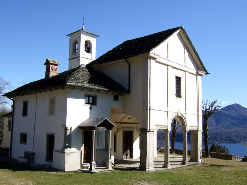 Sacro Monte of the Holy Trinity at Ghiffa