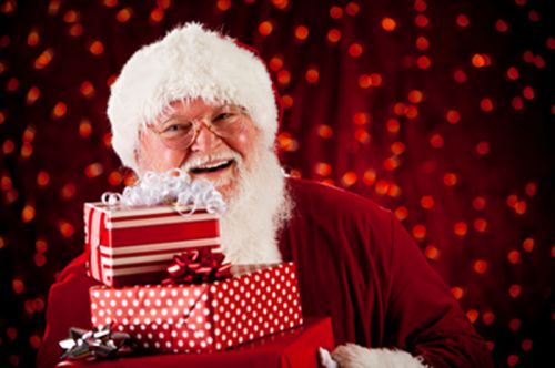 """... visit to the Santa Claus' cave """"good boy"""" diploma a photo with Santa"""