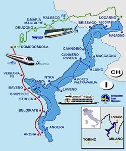 Stresa Lago Maggiore Cartina.Lago Maggiore Express Tour